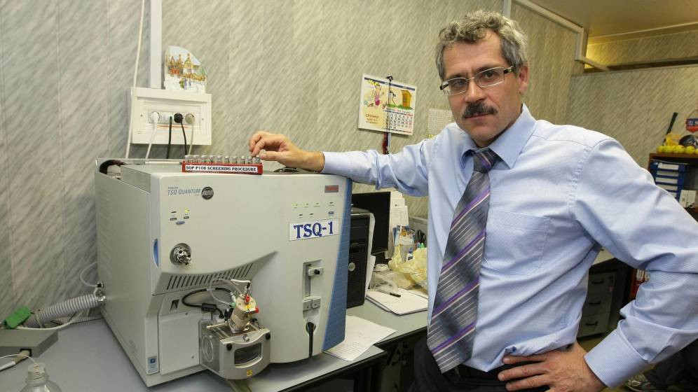 The Rodchenkov Act is named after Grigory Rodchenkov, the former director of the Moscow Laboratory who blew the whistle on Russian doping at the 2014 Winter Olympic Games in Sochi ©Getty Images
