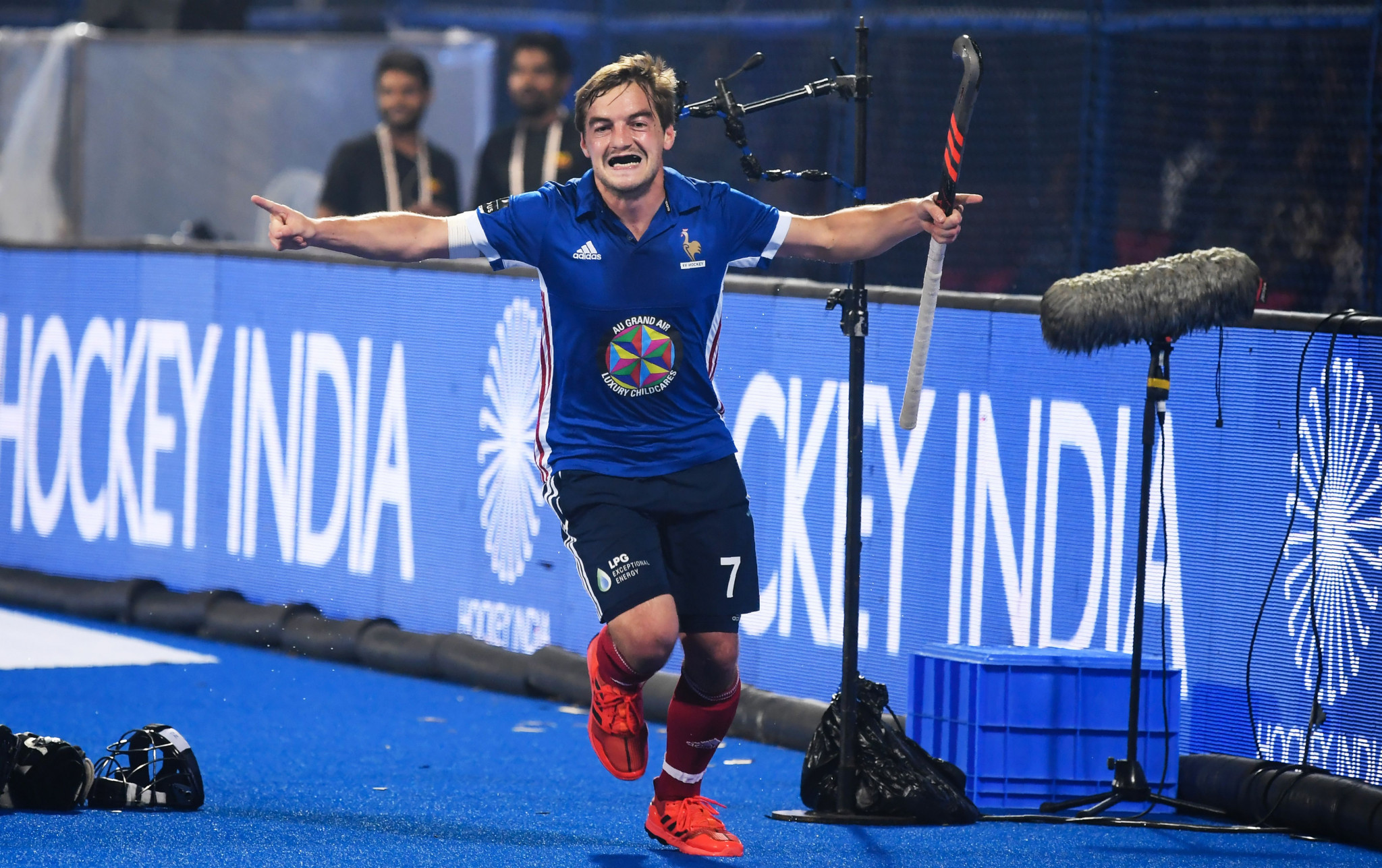 French hockey co-captain Genestet retires after positive cocaine test