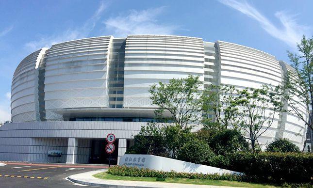 The Binjiang Gymnasium has been chosen as the demonstration venue for Hangzhou 2022 ©Hangzhou Government