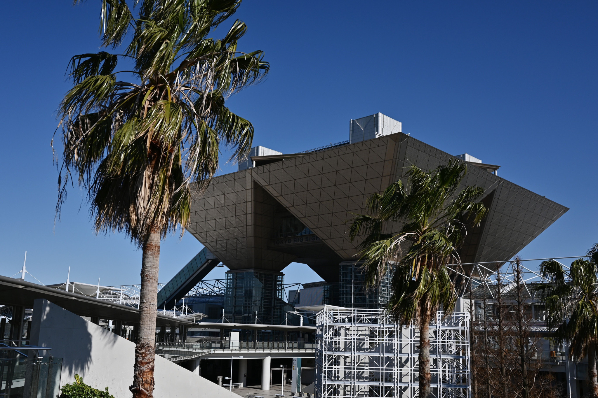 The Tokyo Big Sight was one of the last Olympic venues to be secured for 2021 ©Getty Images