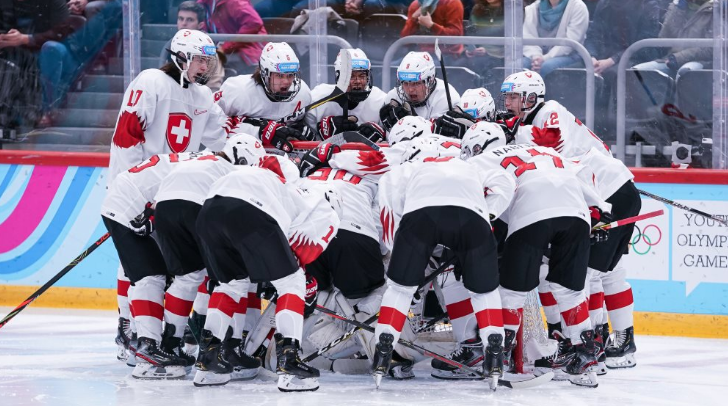 IIHF issue one game suspension to Swiss youth players for violent conduct