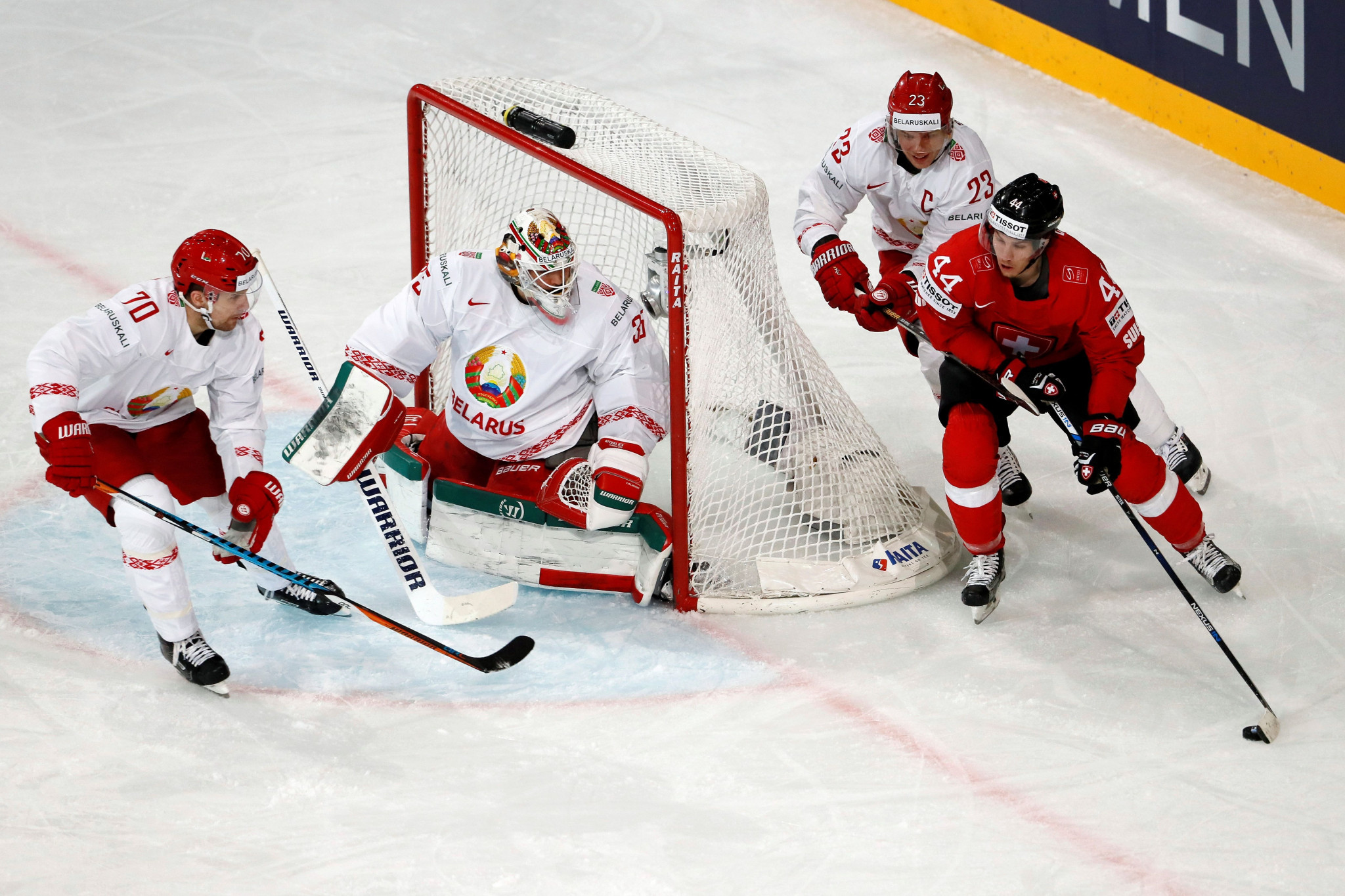 Tickets for the 2021 IIHF Men's World Championships in Belarus and Latvia could go on sale in September ©Getty Images