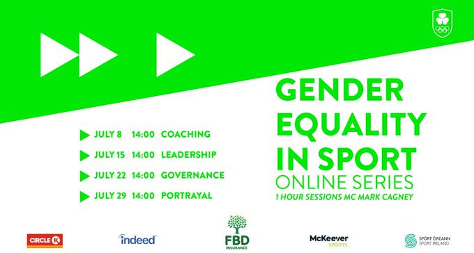 Olympic Federation of Ireland launch online gender equality series