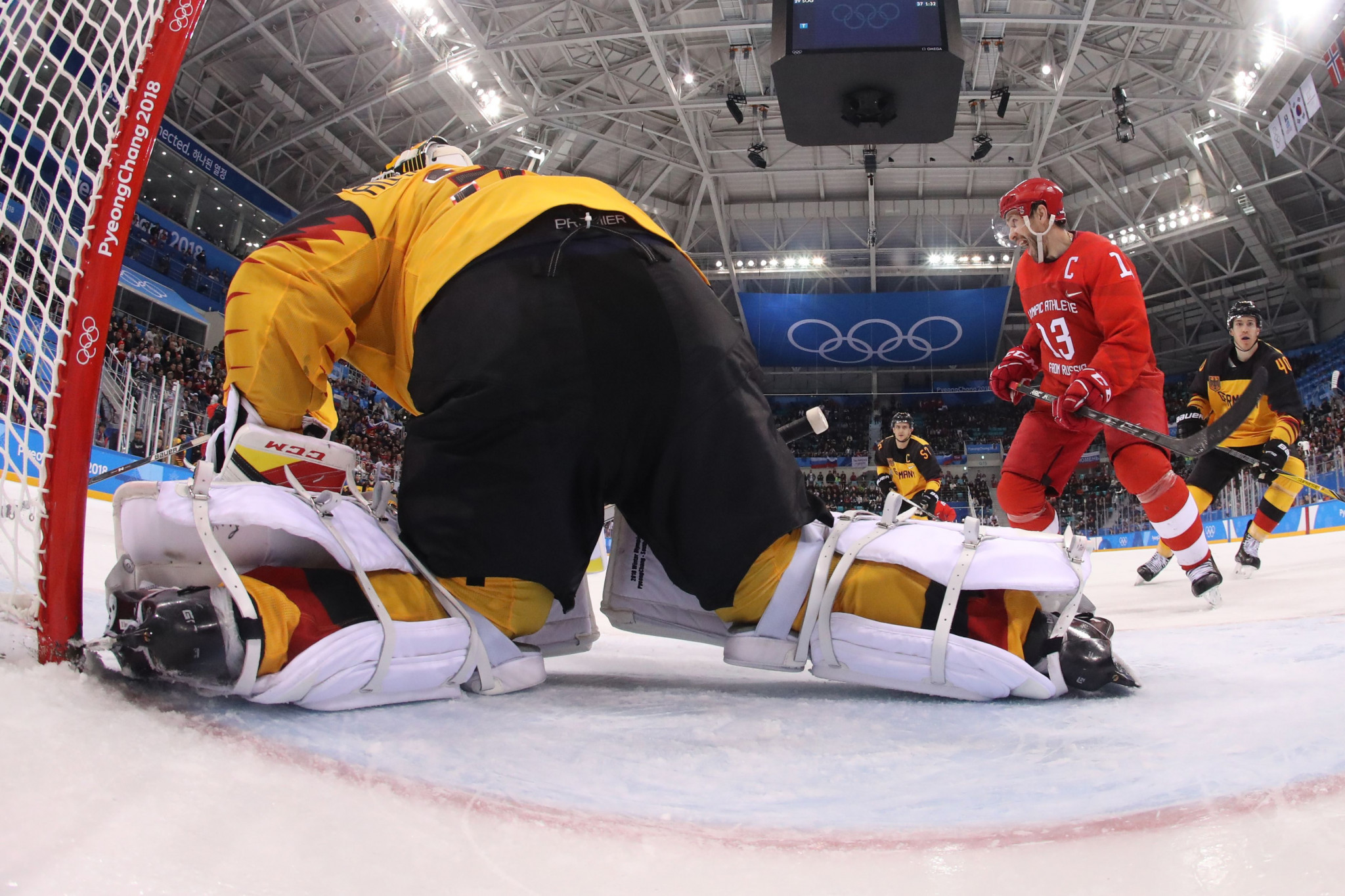 NHL players were unable to compete at the Pyeongchang 2018 Winter Olympic Games ©Getty Images