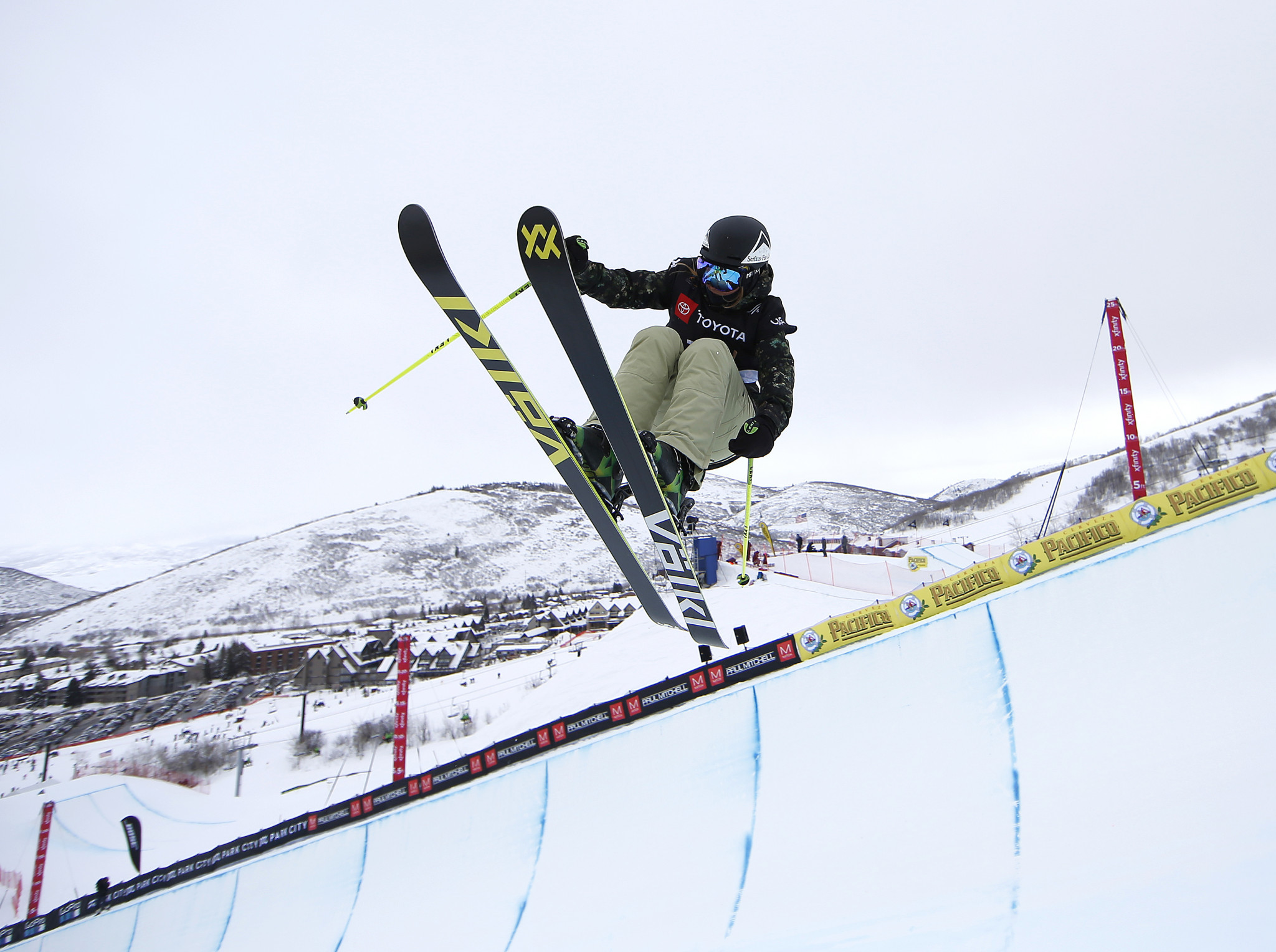 Youth Olympic gold medallist Elisabeth Gram has retired from freestyle skiing ©Getty Images