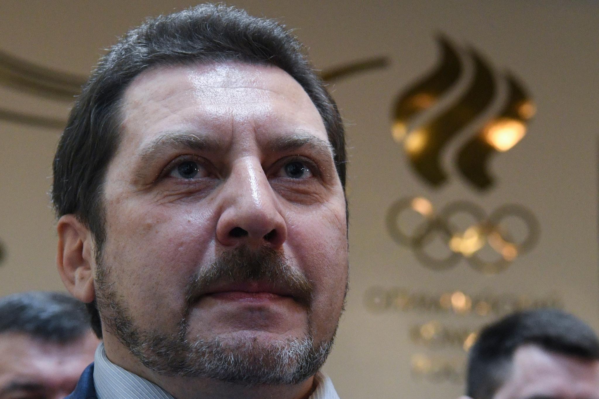 Russian Athletics Federation President Yevgeny Yurchenko has resigned ©Getty Images