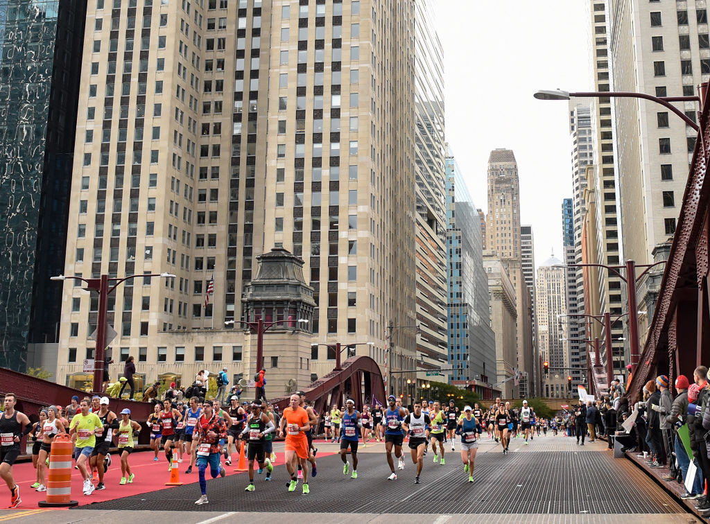This year's Chicago Marathon has been cancelled ©Getty Images