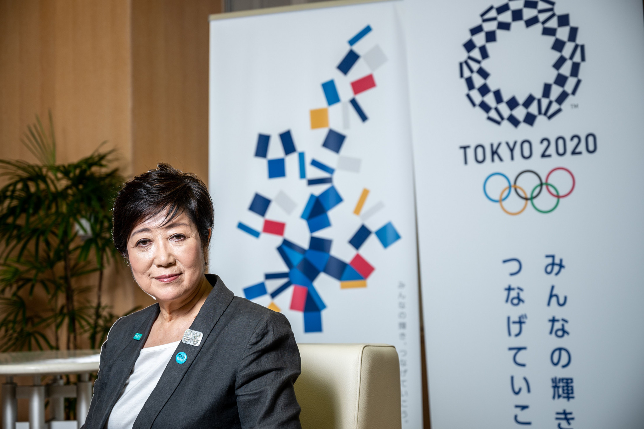 """Koike claims holding Tokyo 2020 next year would be a """"symbol"""" of world overcoming pandemic"""