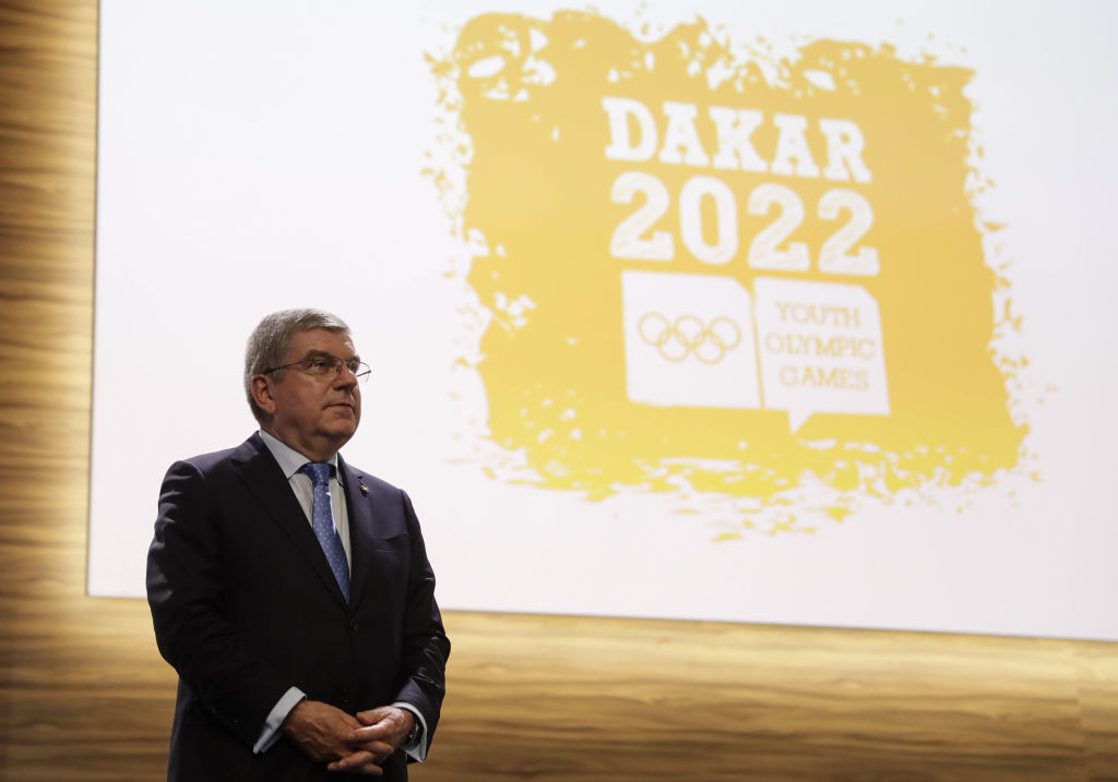 Dakar had been awarded the 2022 Youth Olympics in 2018 ©Getty Images
