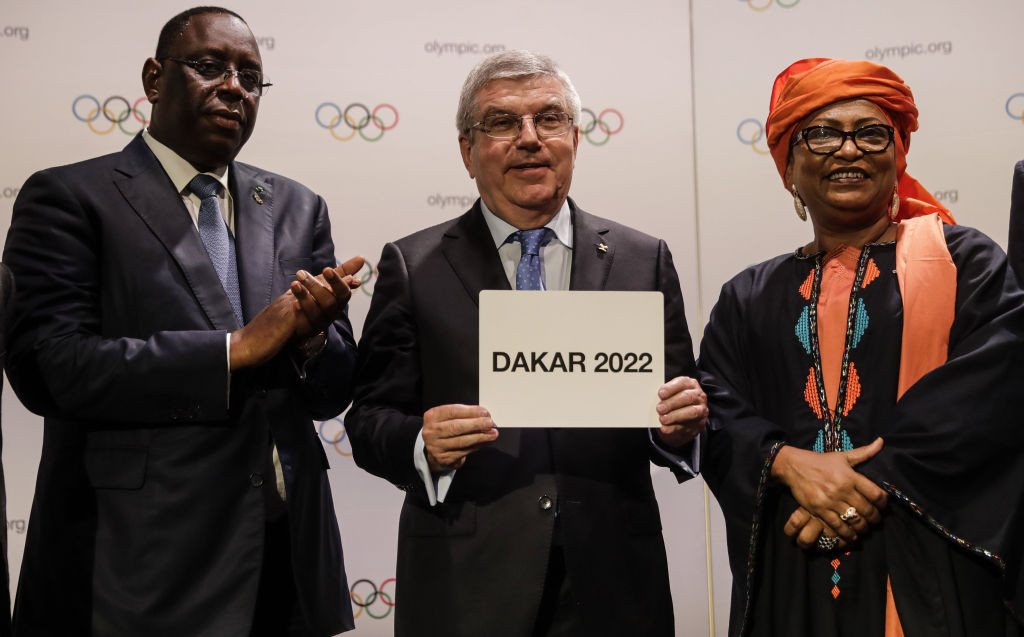 Dakar 2022 was awarded the Youth Olympic Games in 2018, but the event has now been postponed ©Getty Images