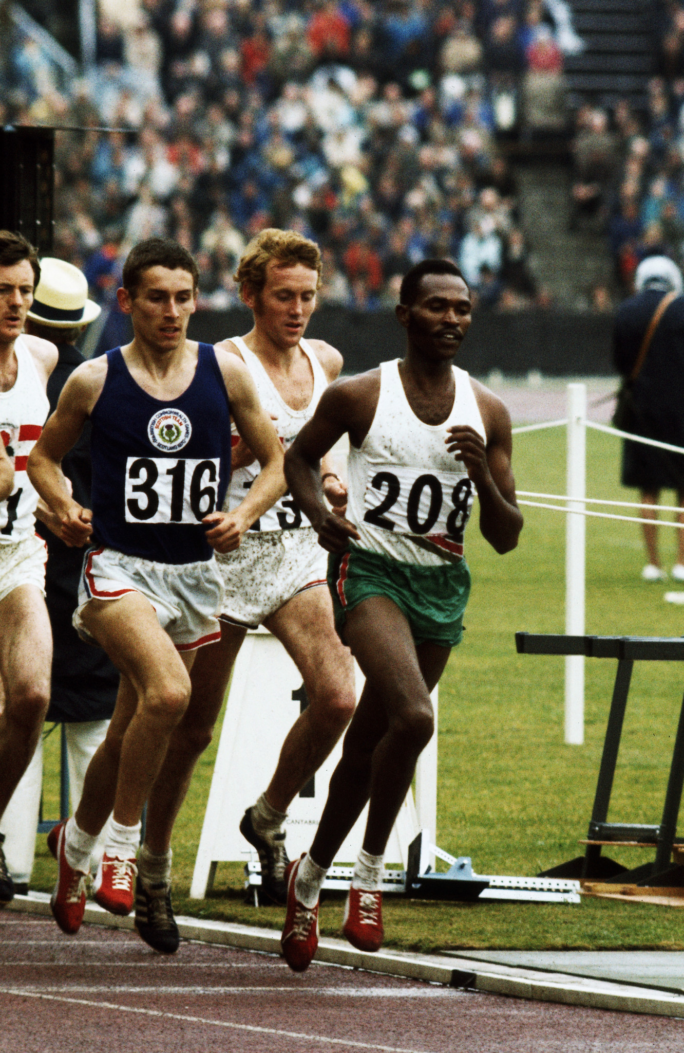 Ian Stewart, left, was one of six Scottish gold medallists ©Getty Images
