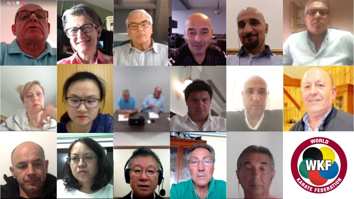 World Karate Federation Referee Commission discuss developments during video meeting