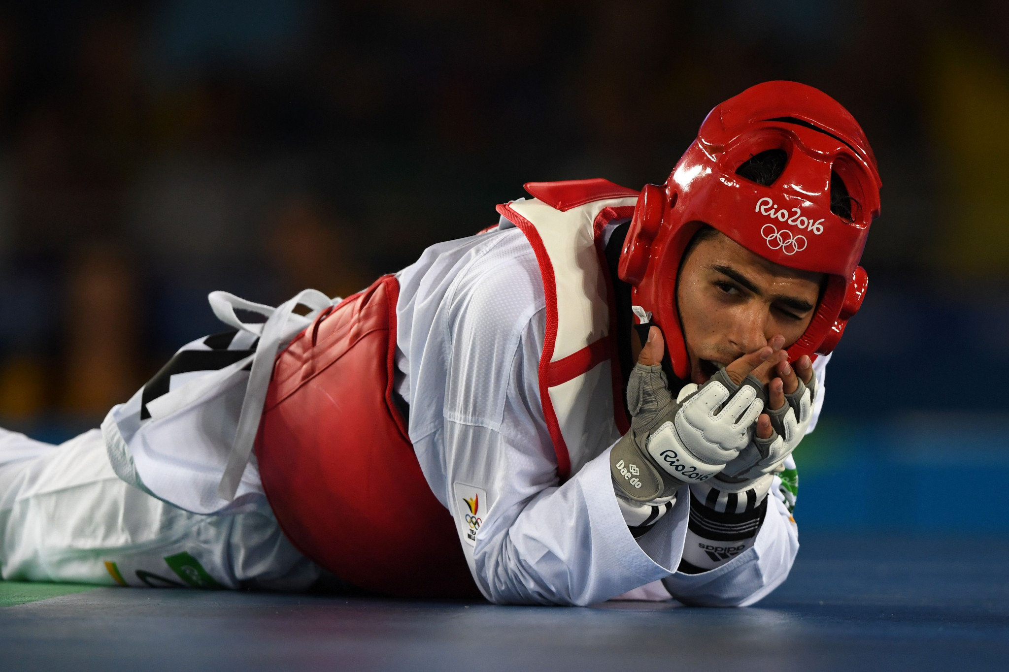 Former world champions such as Jaouad Achab have led the sessions ©Getty Images