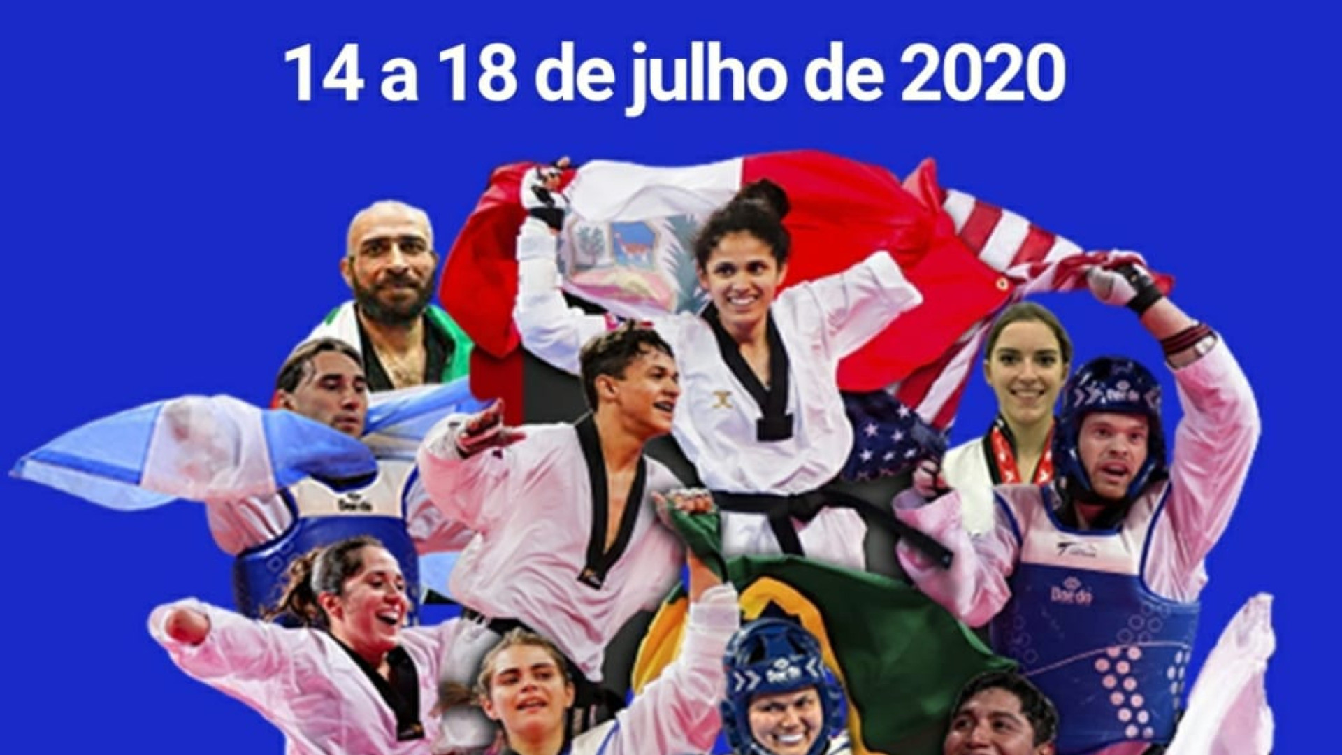 Para-taekwondo athletes from the Americas gather for virtual training