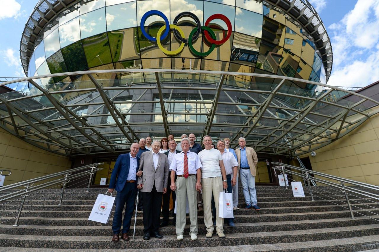 Belarus NOC honours Moscow 1980 medallists