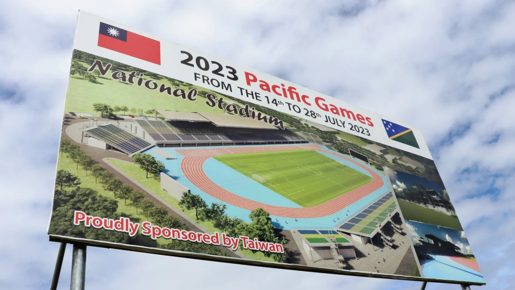 The National Stadium for the 2023 Pacific Games in the Solomon Islands was due to be built by a Taiwanese company but it has been confirmed that China will now be constructing it ©Solomon Islands Government