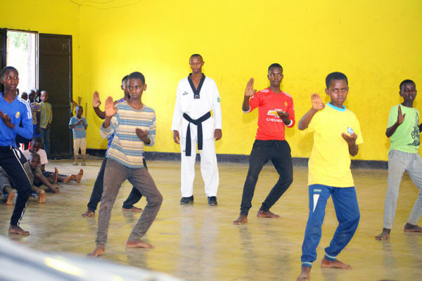 Refugee taewkondo athlete in Rwanda maintains dreams of Tokyo 2020