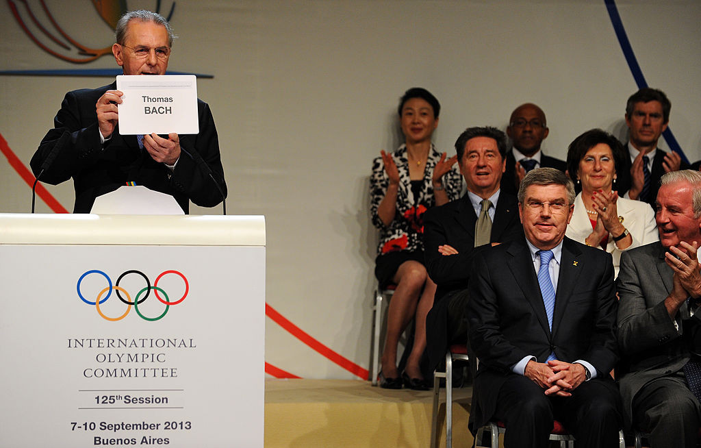 Thomas Bach was elected IOC President in Buenos Aires in 2013 ©Getty Images