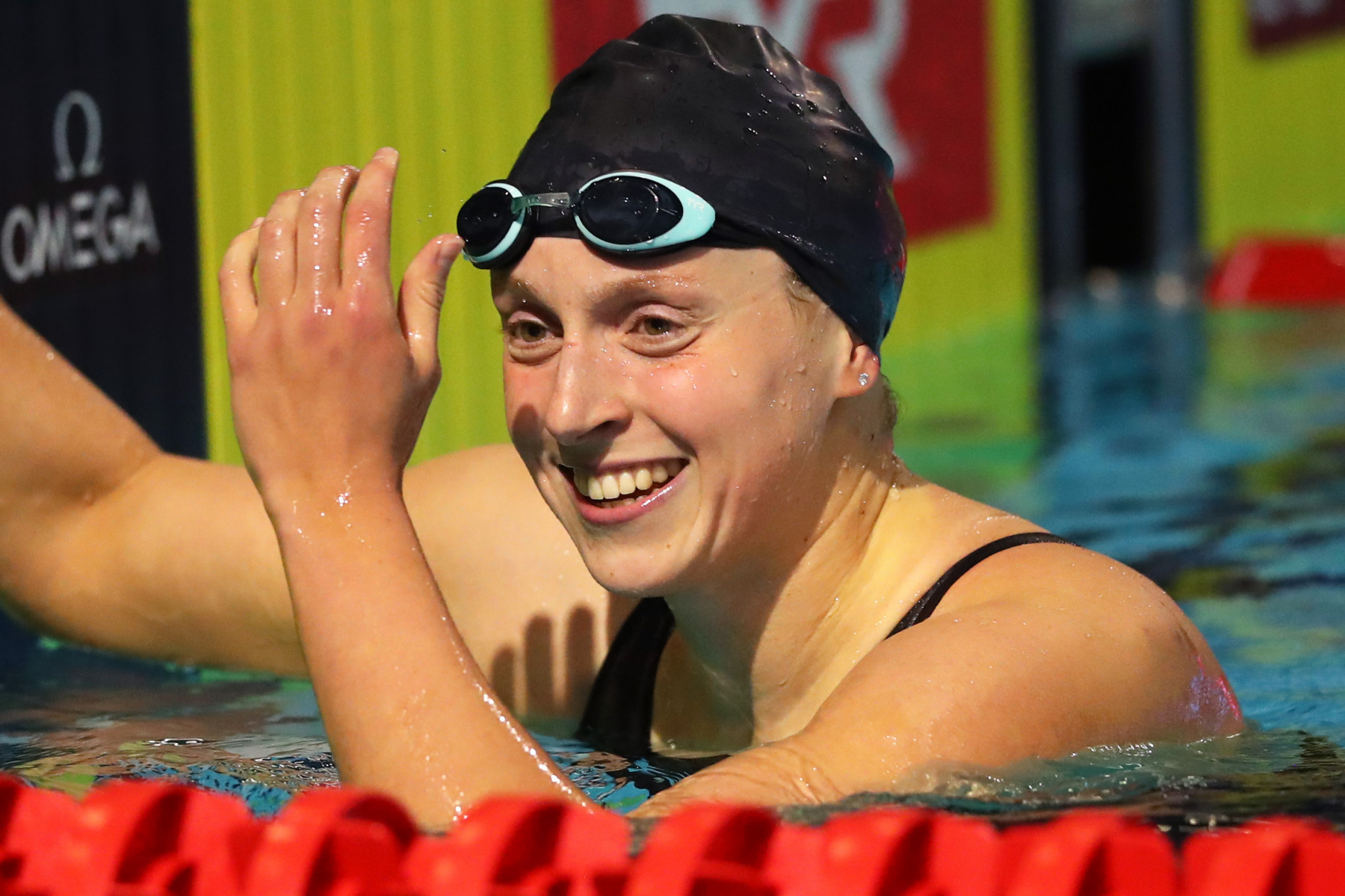 """Five-time Olympic swimming champion Katie Ledecky claimed athletes are """"ready to adjust"""" to a scaled-down Games in Tokyo next year ©Getty Images"""