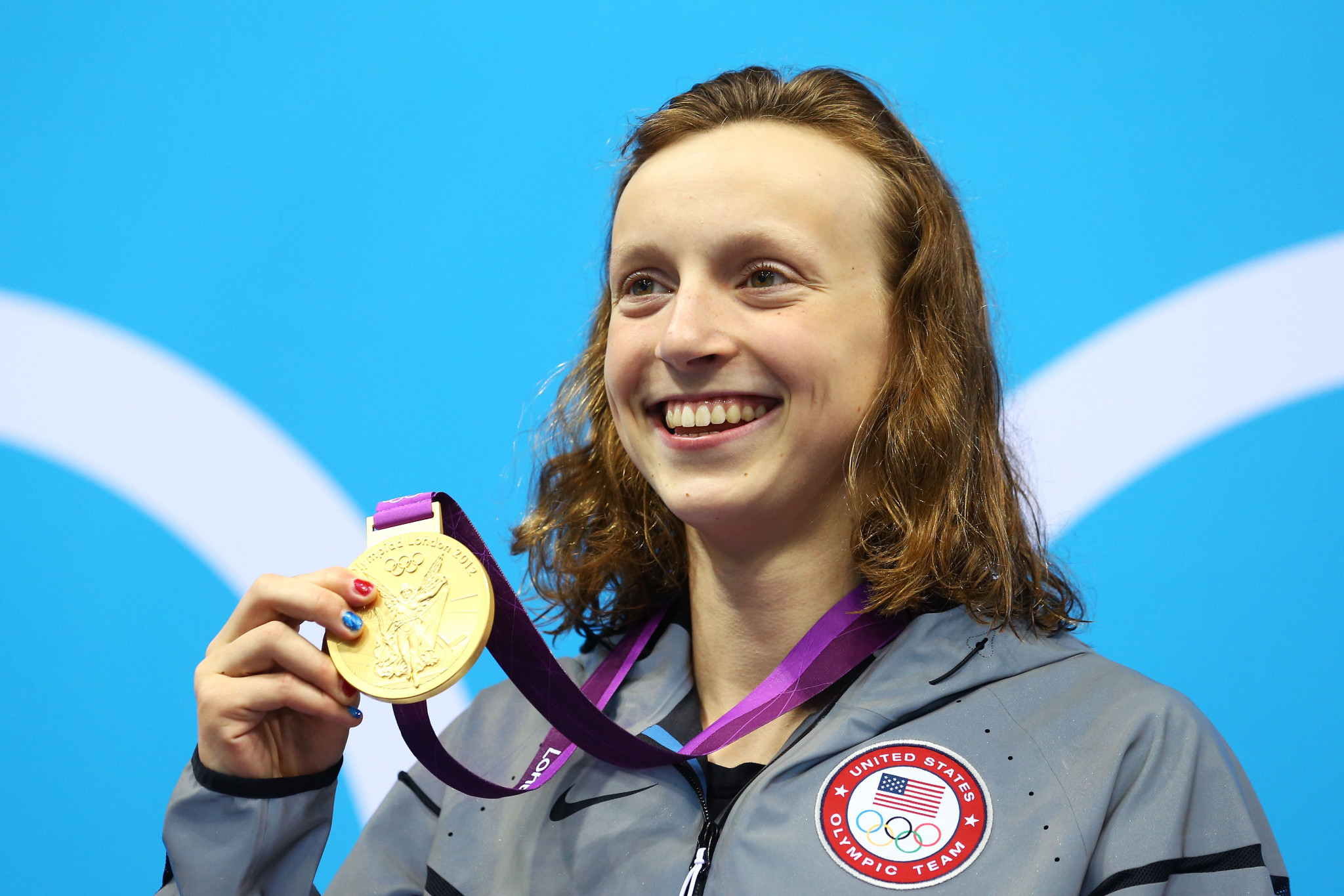 Katie Ledecky has earned five Olympic gold medals during her career ©Getty Images