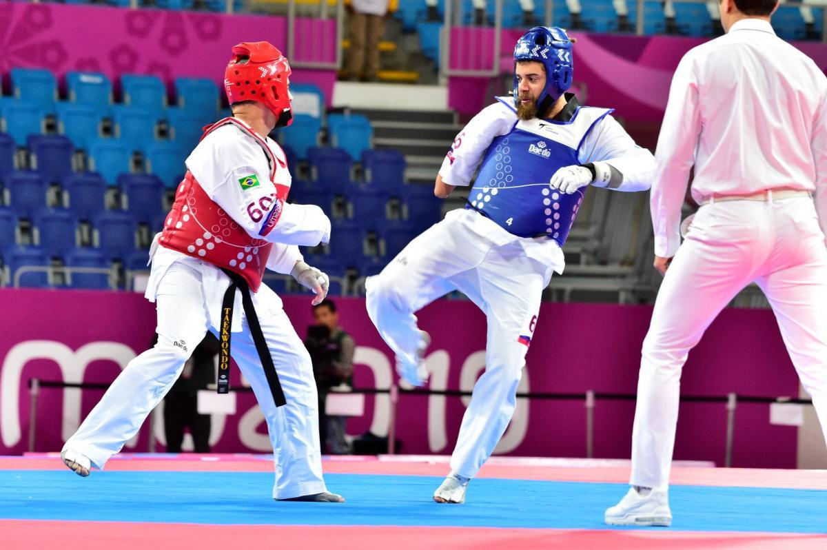 Para-taekwondo athlete Loonstra discusses experiences as sole representative of Aruba