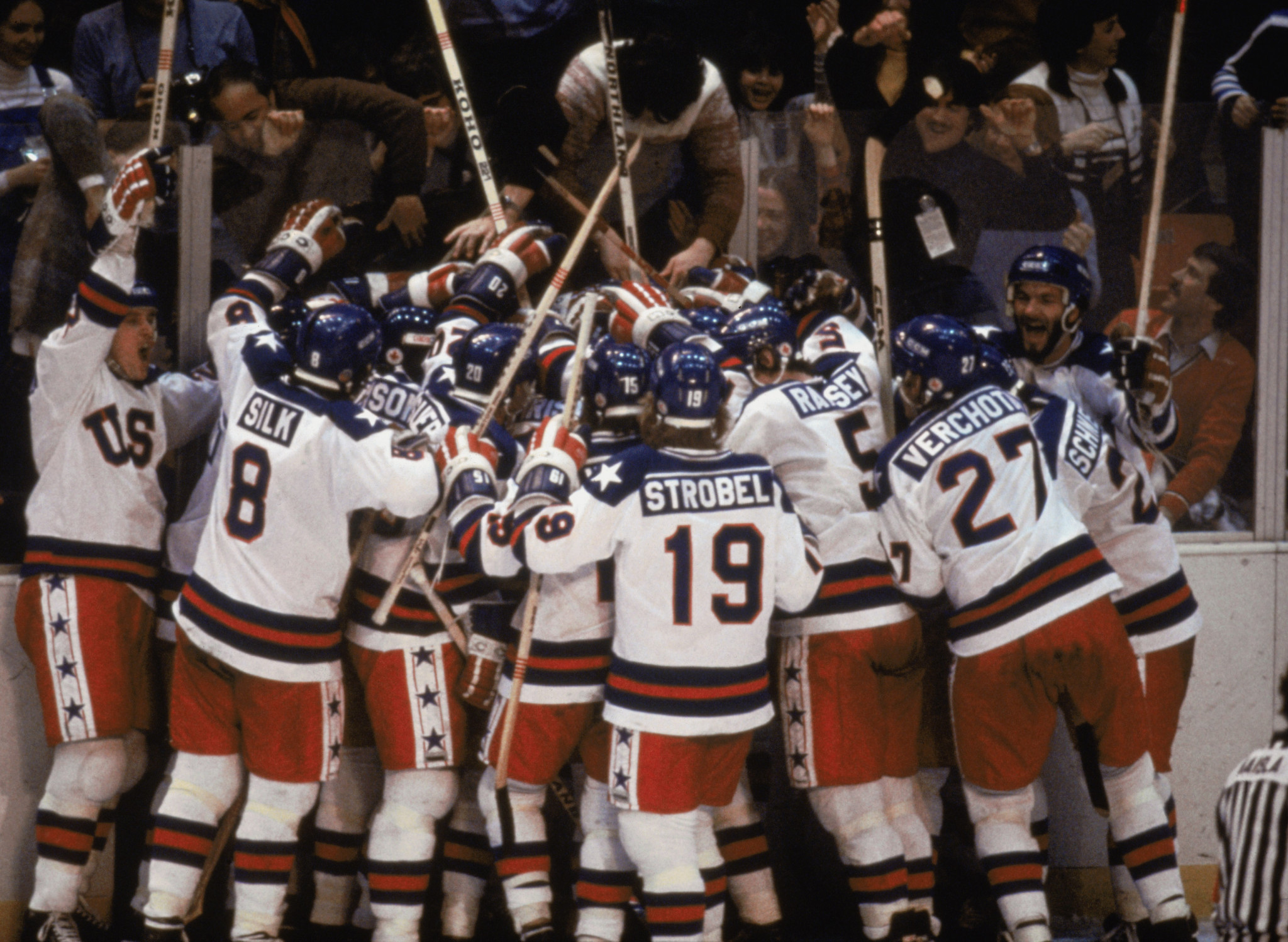 The 'Miracle on Ice' was not the only remarkable Olympic hockey triumph in 1980 ©Getty Images
