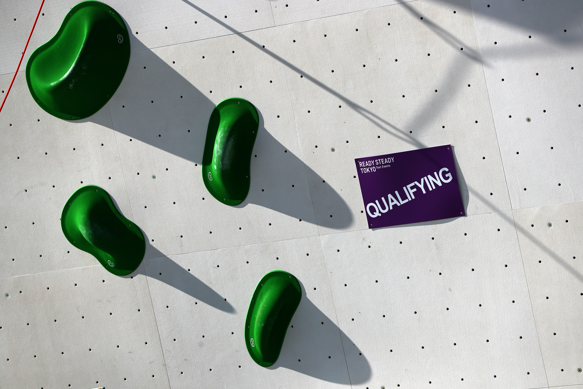 Sport climbing is due to make its Olympic debut next year ©Getty Images
