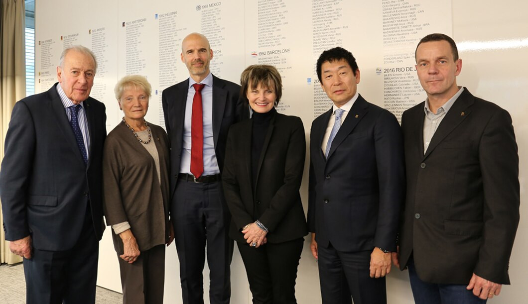 Morinari Watanabe encouraged the reporting of cases to the Gymnastics Ethics Foundation ©FIG