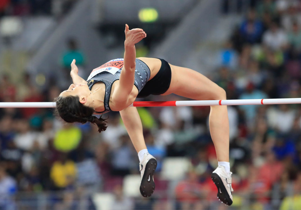 Mariya Lasitskene was among the Russian athletes to have written to Renaud Lavillenie to seek his support ©Getty Images