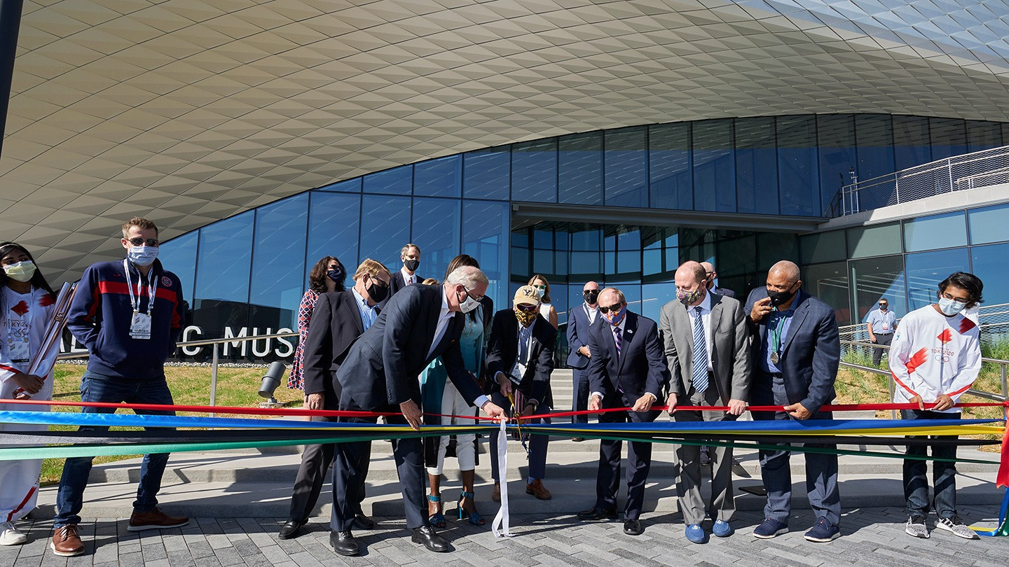 US Olympic and Paralympic Museum officially opens its doors