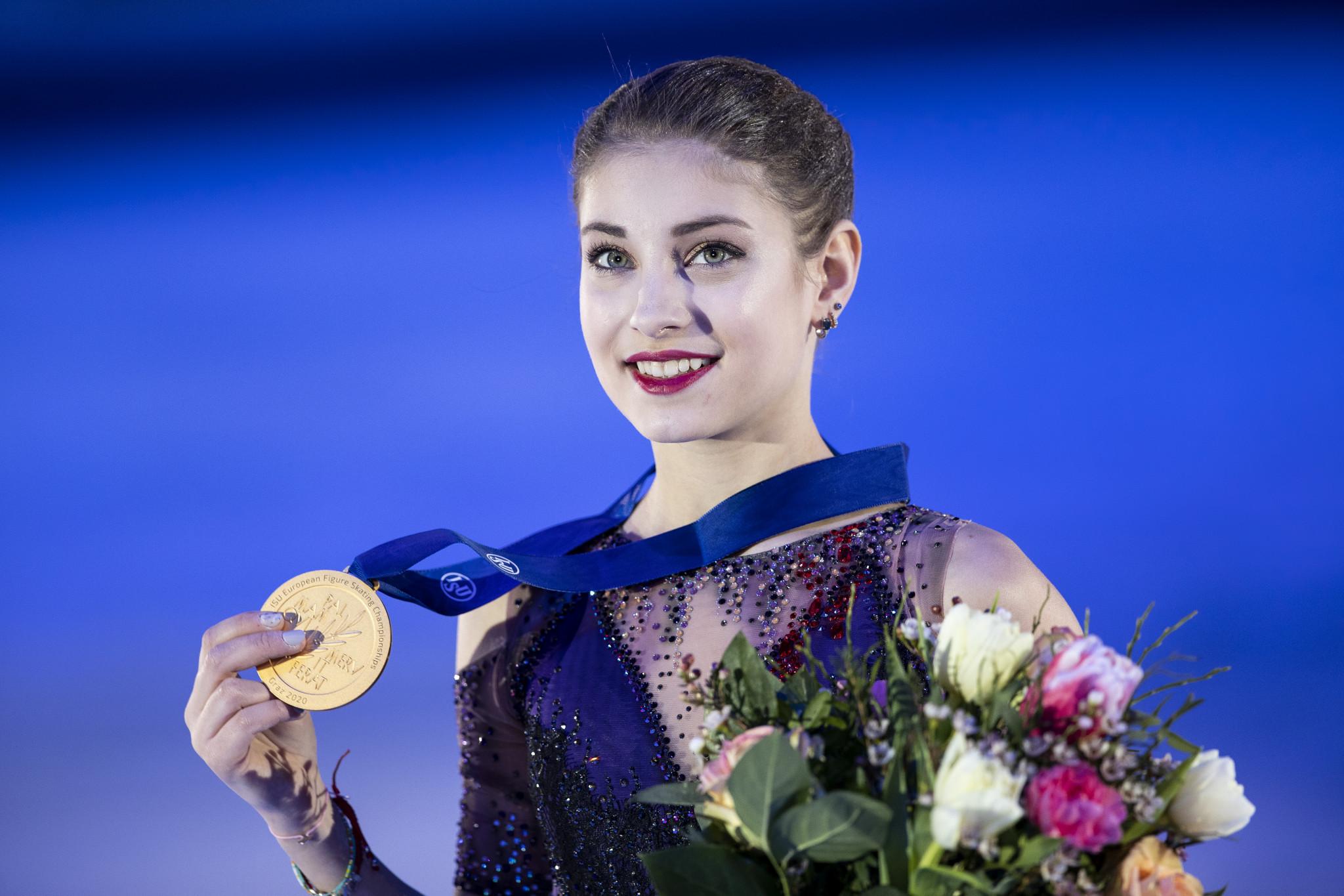 Kostornaia follows in Trusova's tracks and makes Plushenko new coach