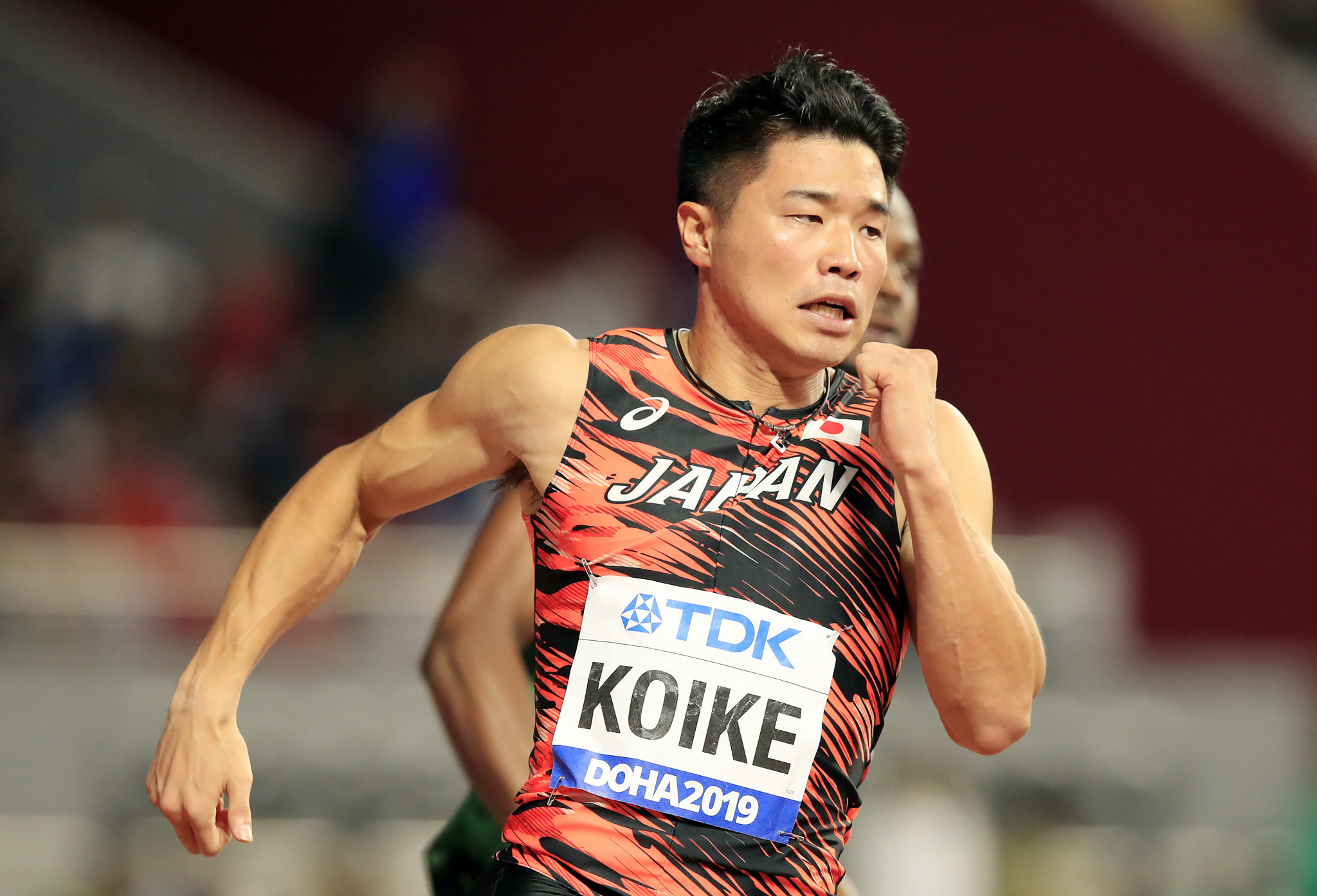 Yuki Koike will be among those in the men's 100m field later this month ©Getty Images