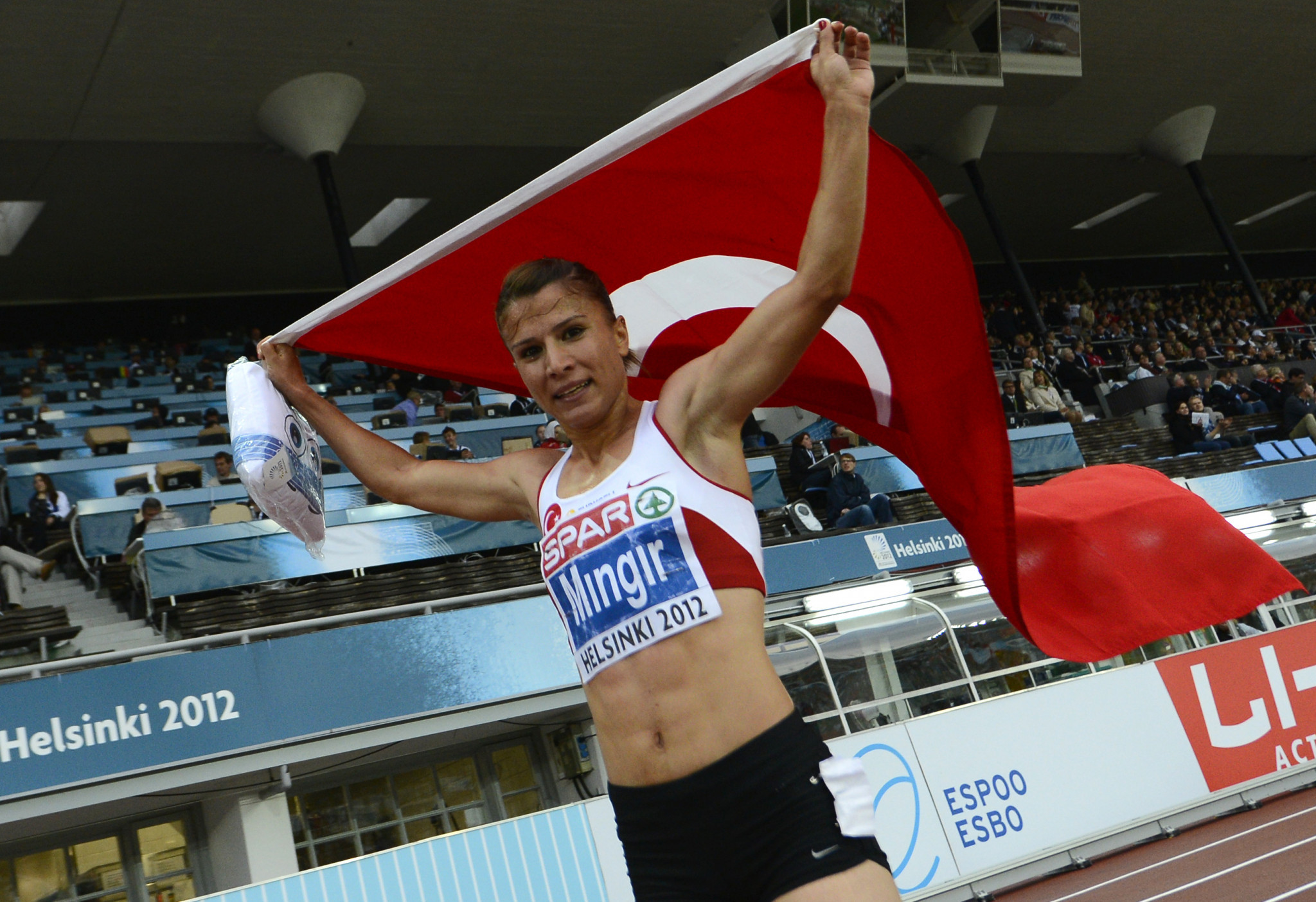 Turkish steeplechaser Gulcan Mingir has been banned for two years and retrospectively disqualified from the London 2012 Olympics ©Getty Images