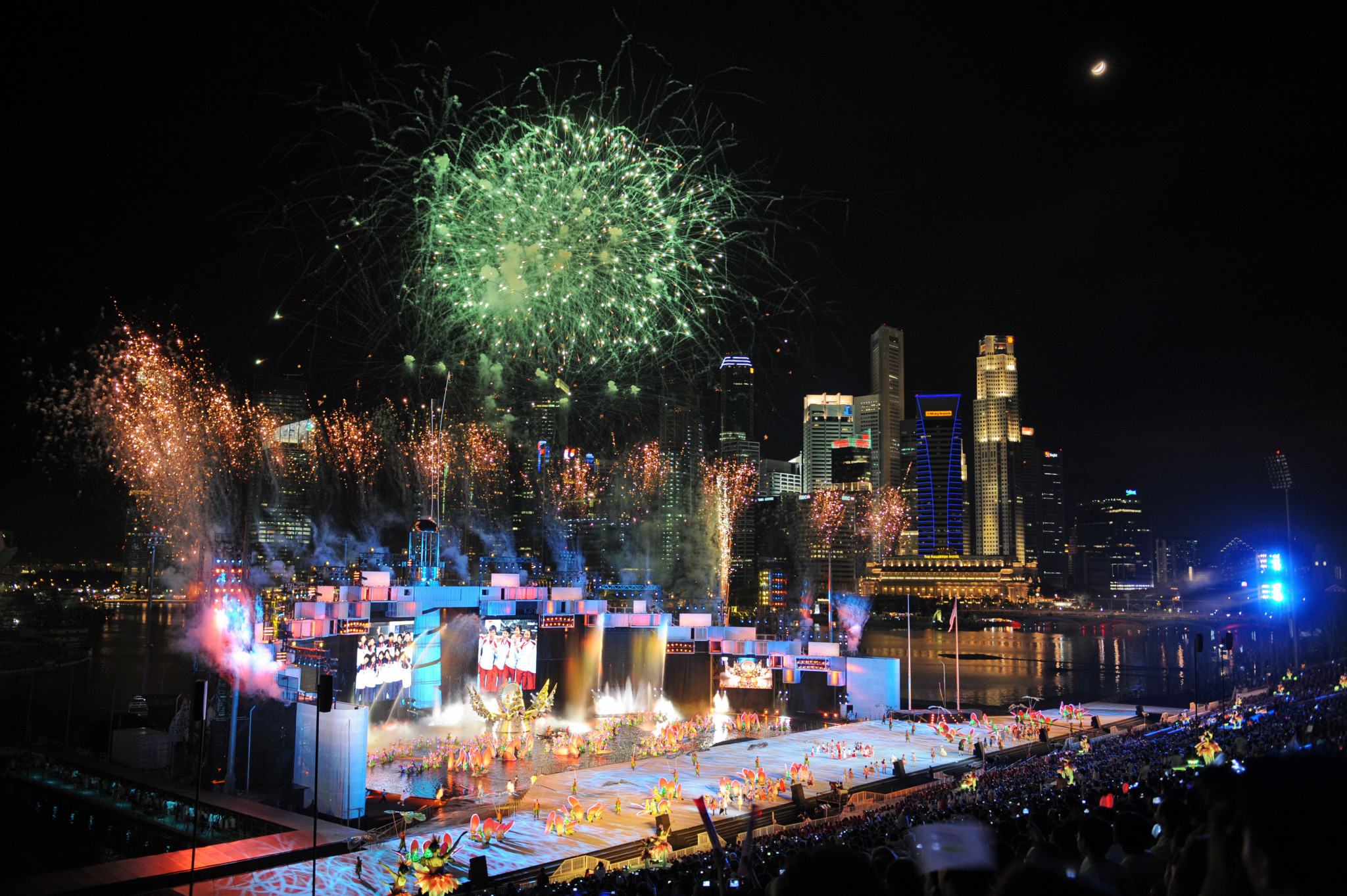 The Opening Ceremony in Singapore ©Getty Images