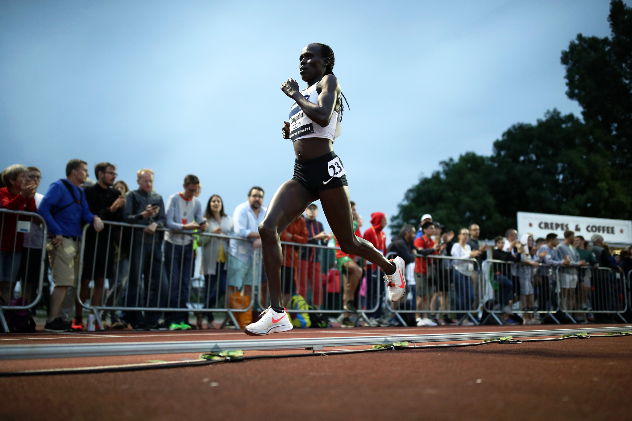 Lonah Chemtai Salpeter won the 2019 women's title at the European Cup ©Getty Images