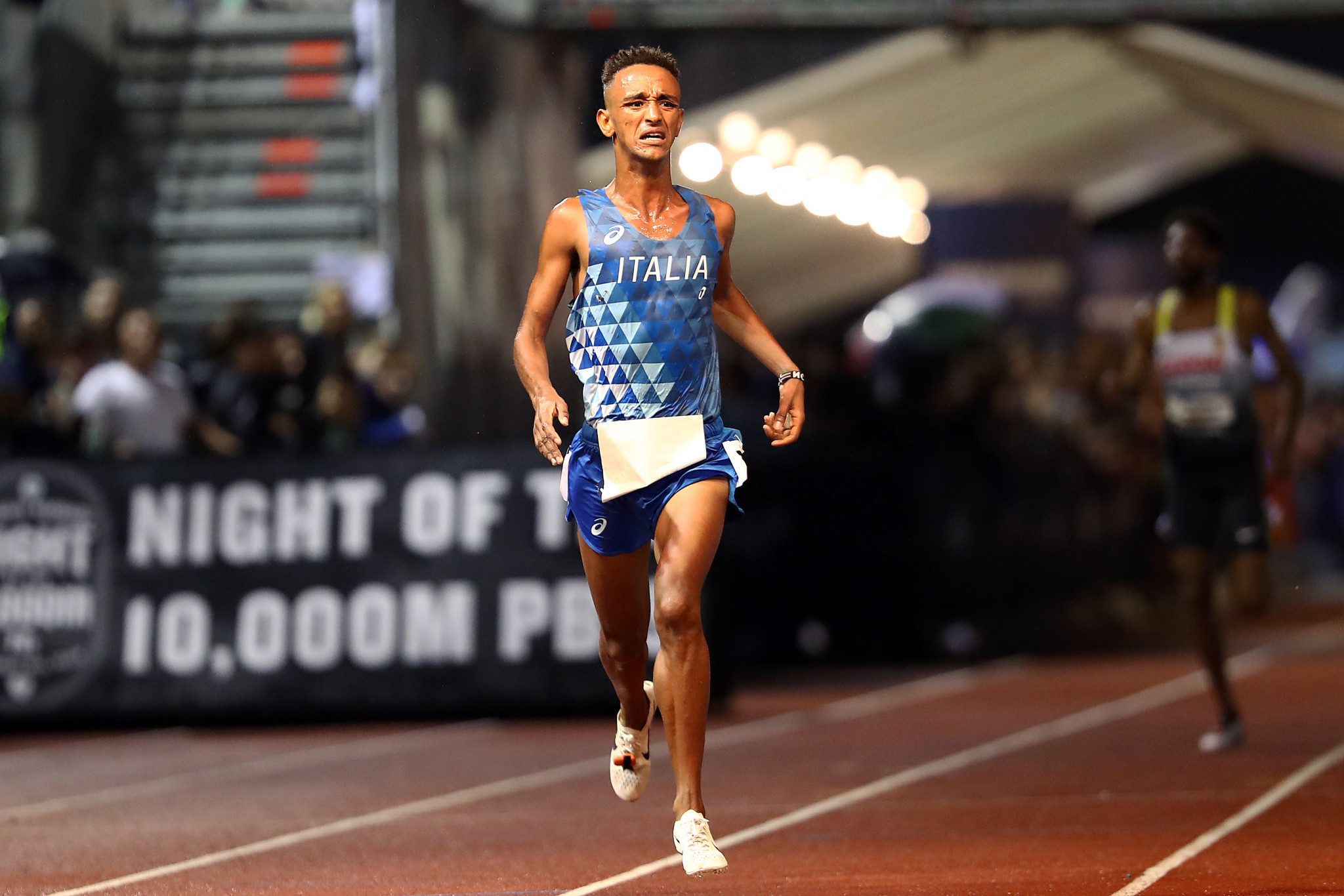 Yemaneberhan Crippa won the men's title at the European 10,000m Cup last year ©Getty Images