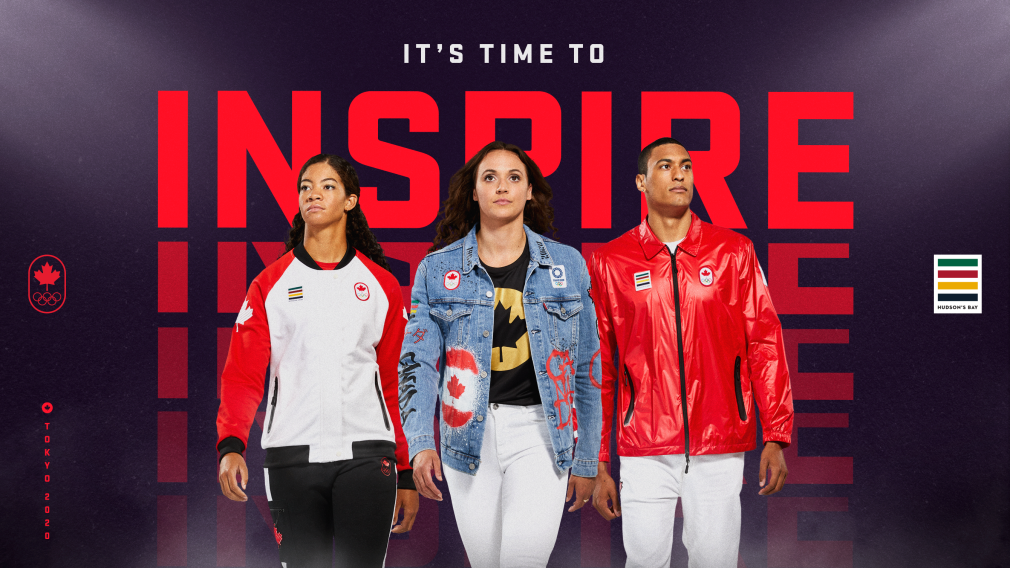 Team Canada has launched its Tokyo 2020 kit ©Team Canada