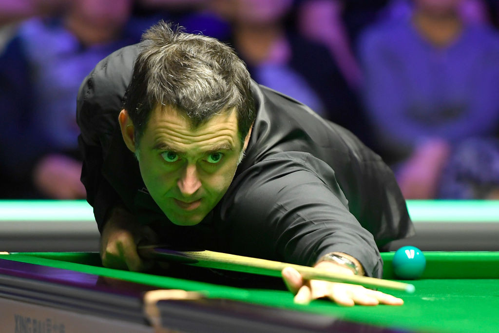 O'Sullivan leads Selby after first session of semi-final at World Snooker Championship