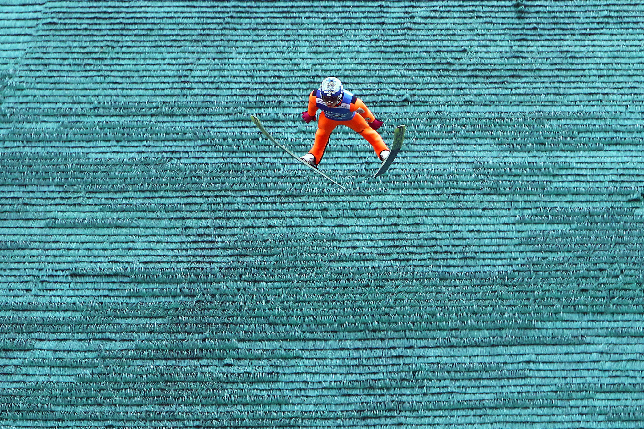 The summer ski jumping season will begin this weekend, organisers have said ©Getty Images