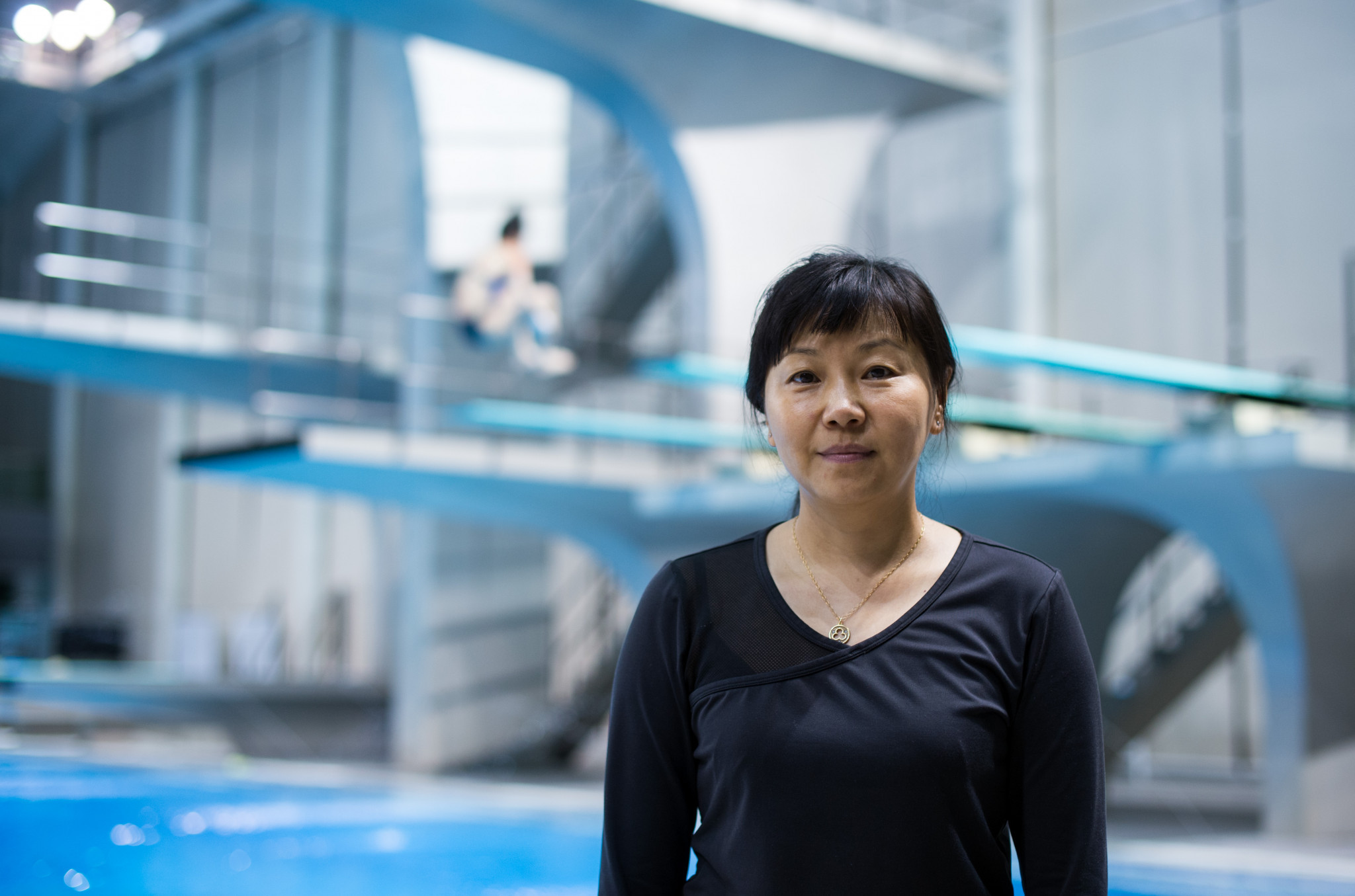 China's 1984 Olympic diving gold medallist Zhou Jihong will reportedly seek the FINA first vice-president position ©Getty Images