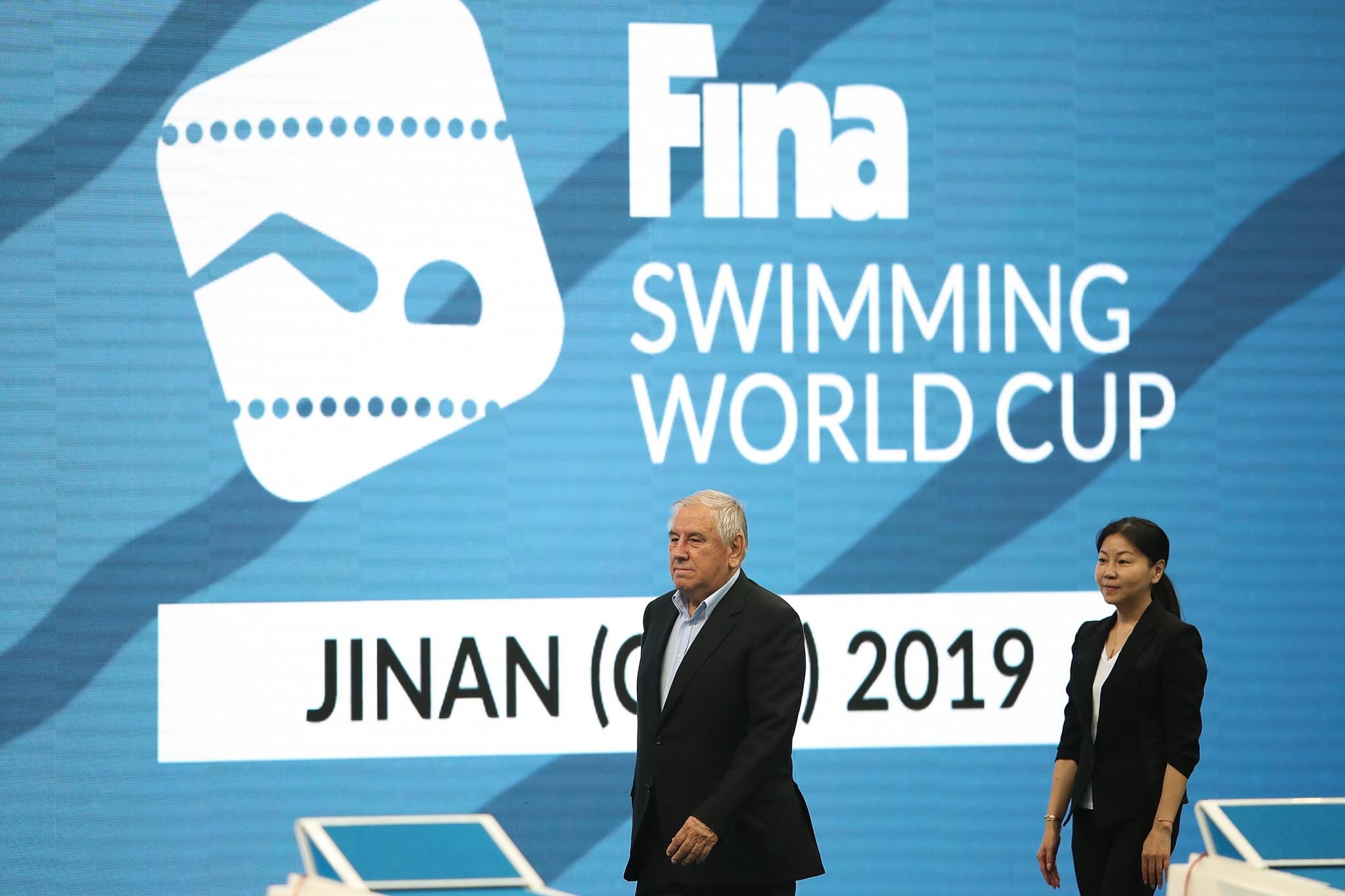 Zhou Jihong has been a member of the FINA Bureau since 2015 ©Getty Images