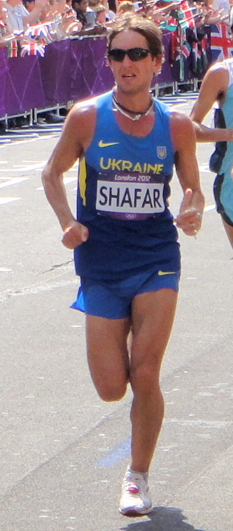 Vitaliy Shafar competed at the London 2012 Olympic Games ©Wikipedia