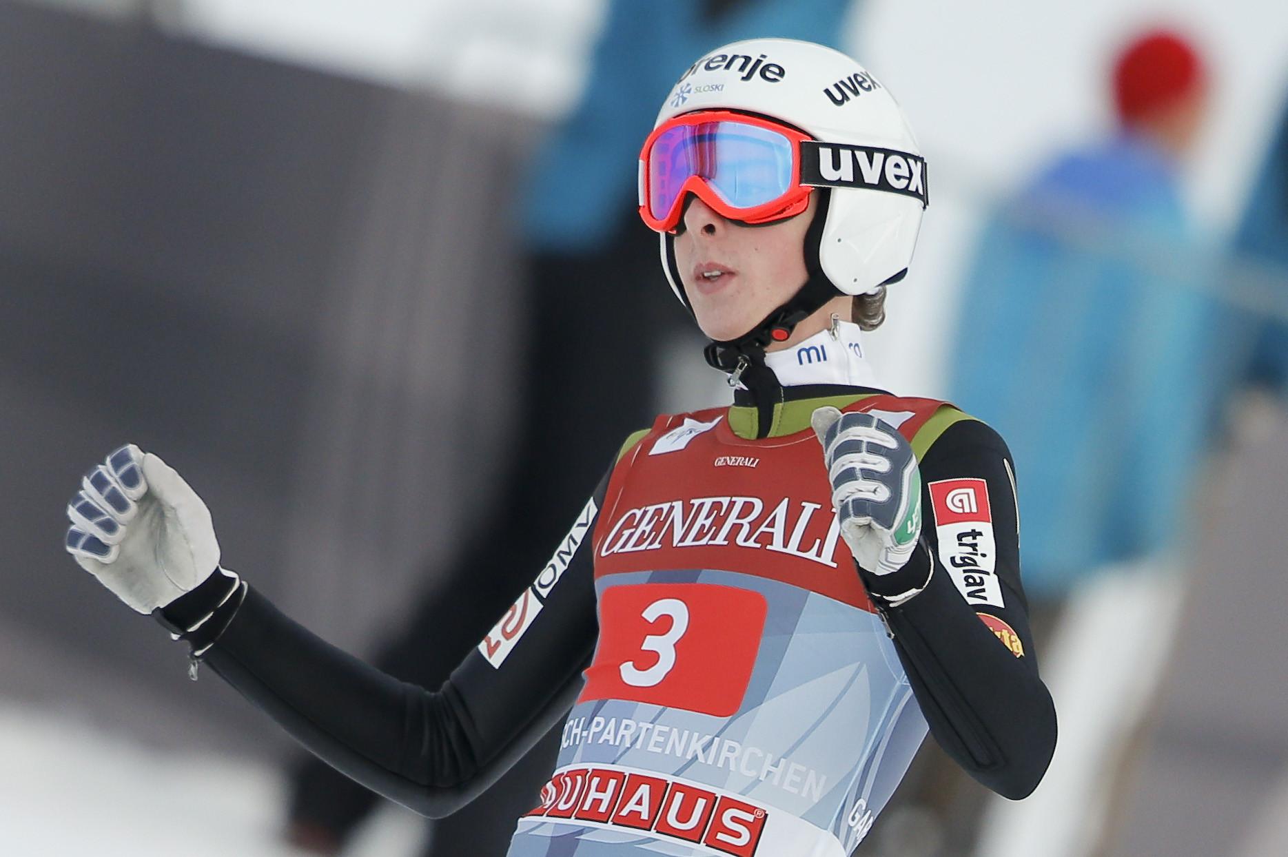 Former junior world champion Hvala retires from ski jumping