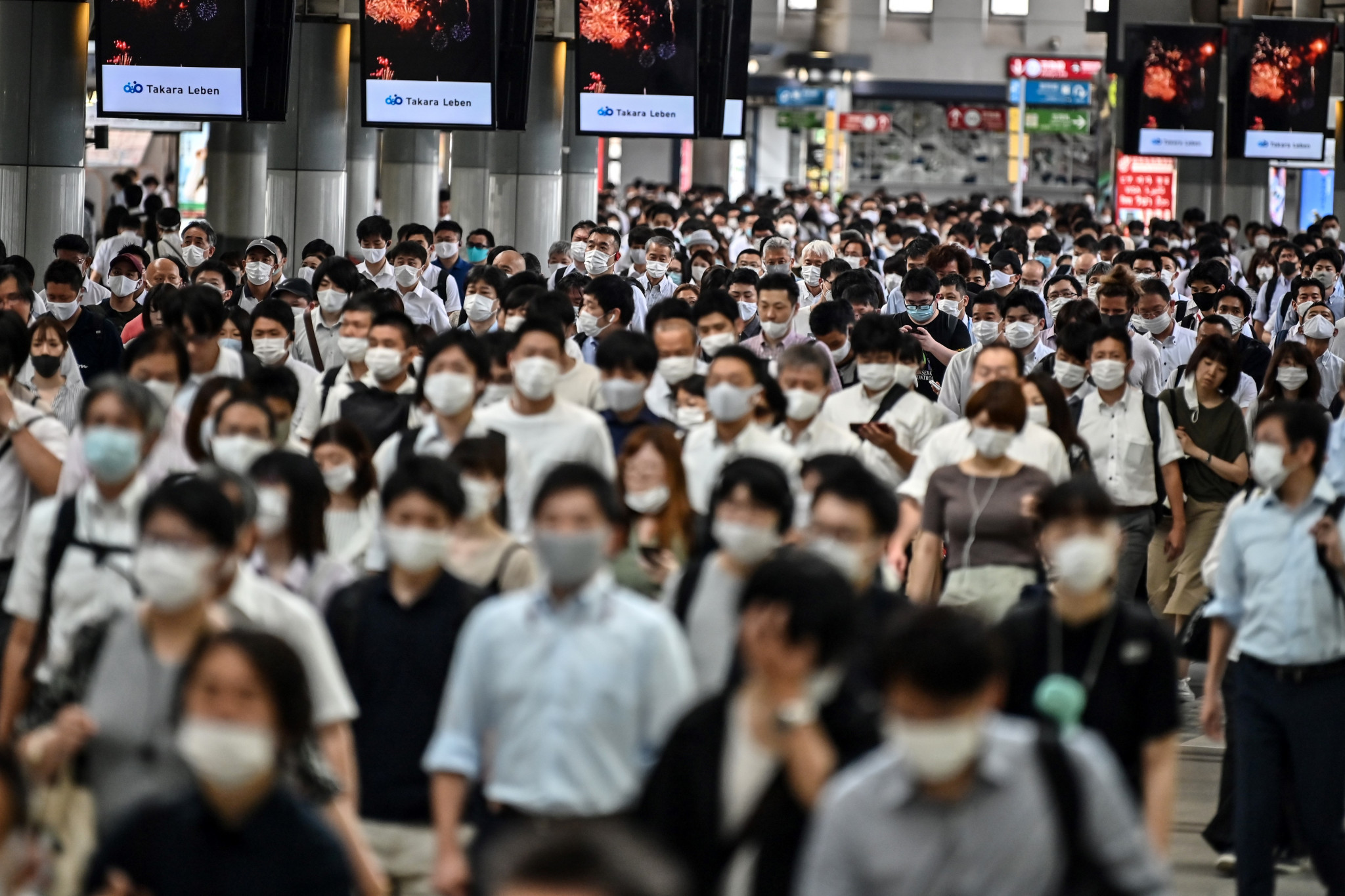 A recent rise in coronavirus cases has been reported in Japan ©Getty Images