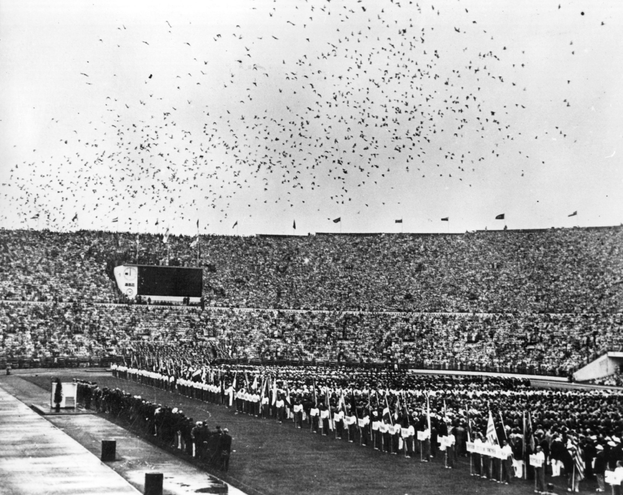 The stadium was the main venue for the Helsinki 1952 Olympic Games ©Getty Images
