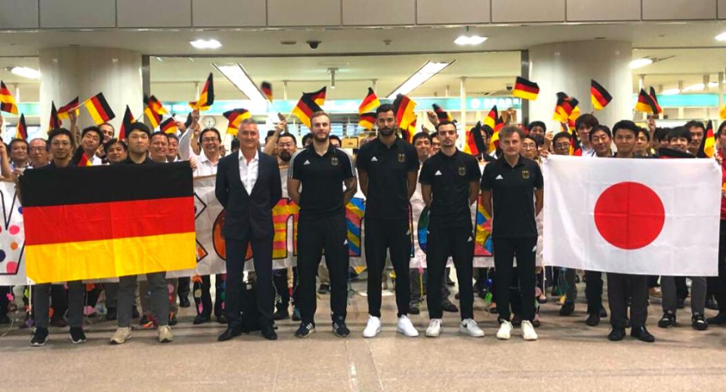 German taekwondo coach takes part in virtual Japanese training camp