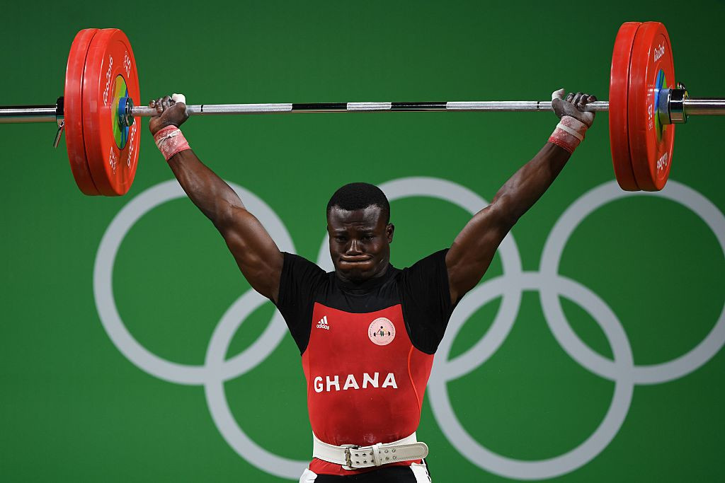 Ghana sent 14 athletes to the 2016 Olympic Games in Rio de Janeiro ©Getty Images