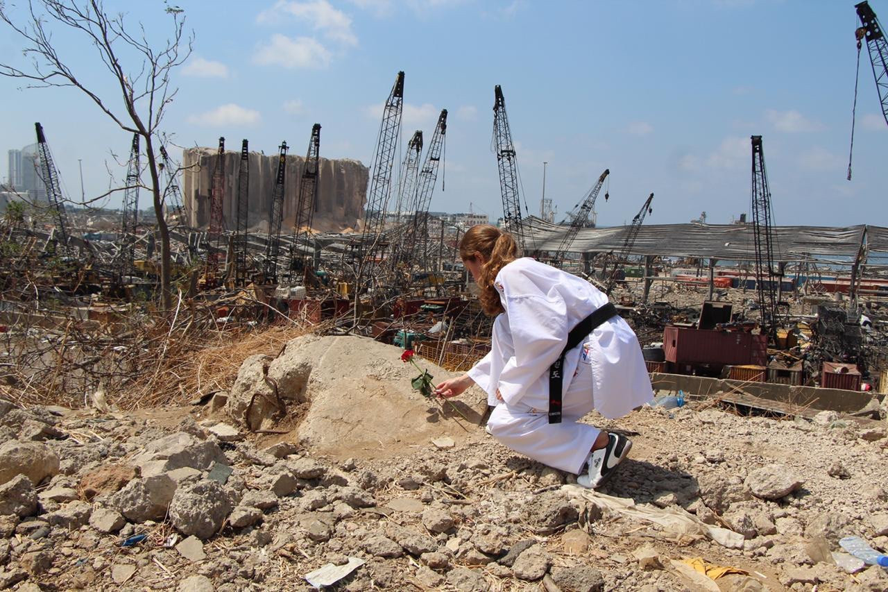 More than 200 people were reportedly killed in the explosion with thousands left injured ©World Taekwondo