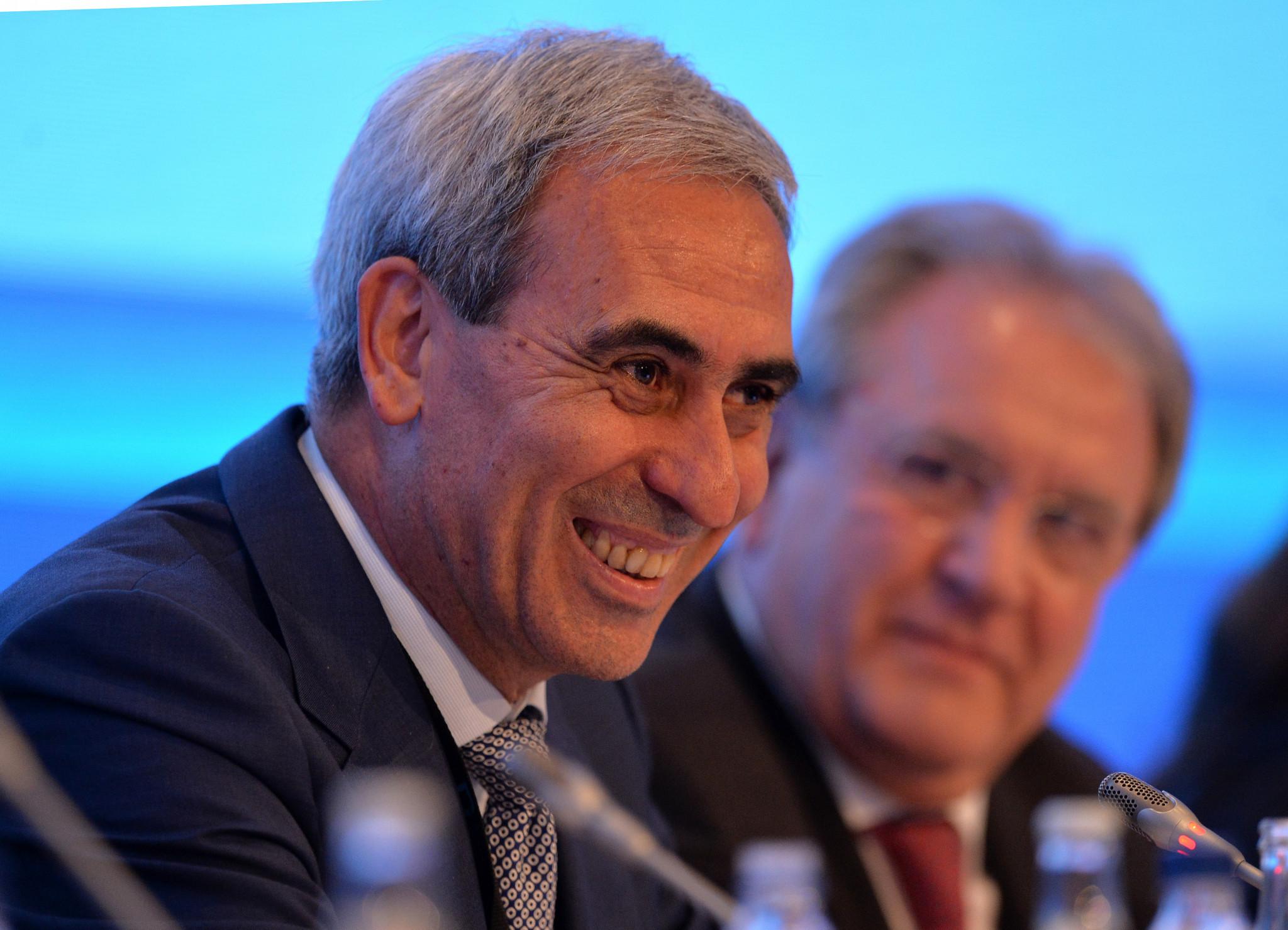 GAISF President Chiulli hails importance of International Day of University Sport