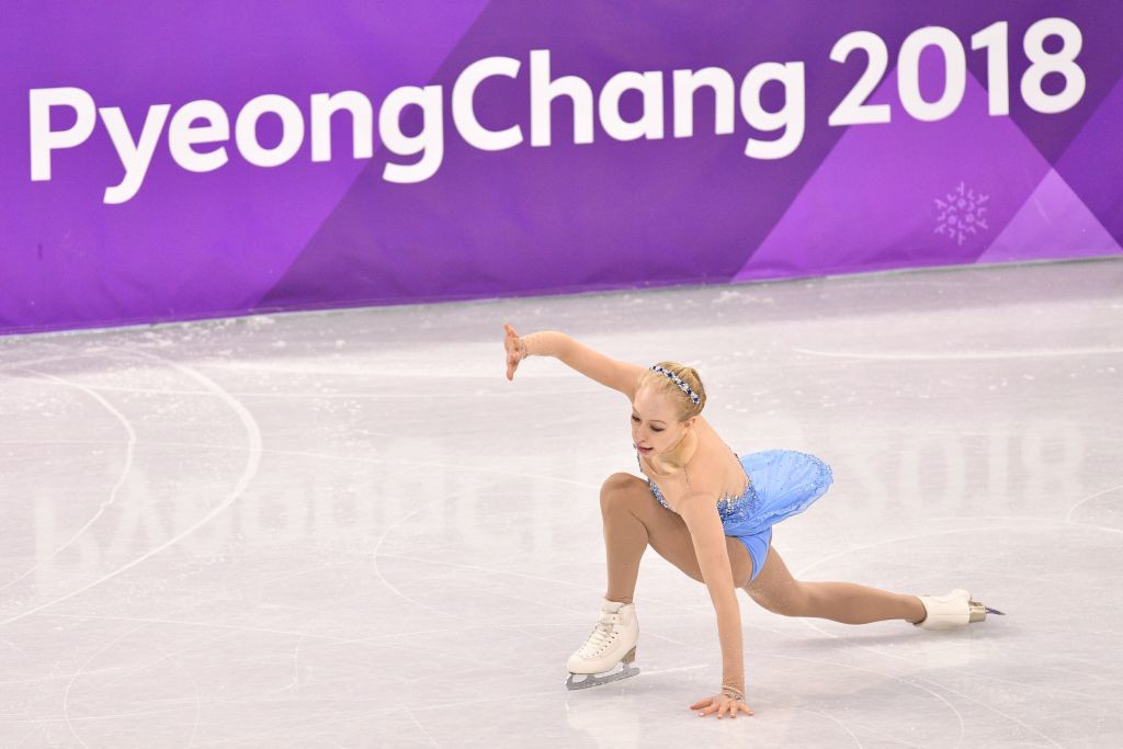 Bradie Tennell won team bronze at the 2018 Winter Olympics in Pyeongchang ©Getty Images